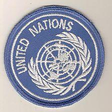 United Nations Badge By Hornet Driver