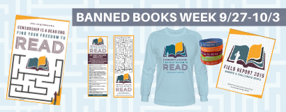 Shop Banned Books Week Merchandise at the ALA Store