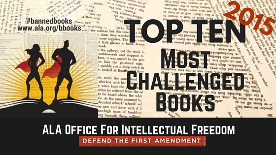 2015 Top Ten Most Challenged Books