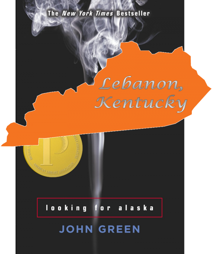 Looking for Alaska Challenged in Lebanon, Kentucky