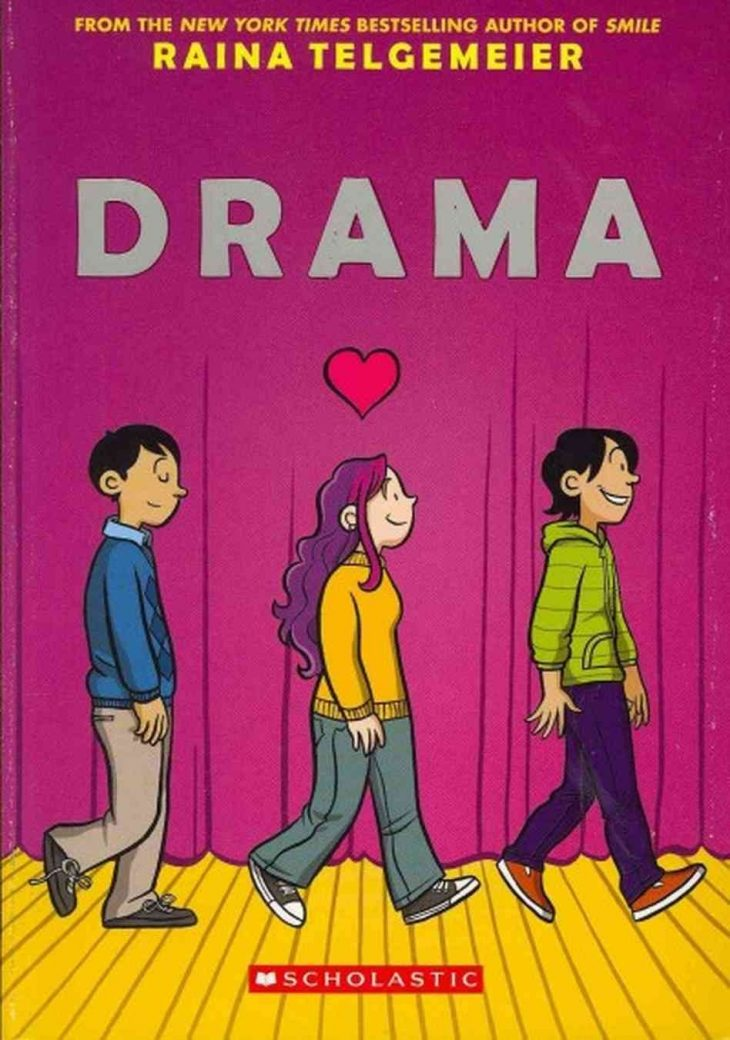 Drama by Raina Telgemeier cover