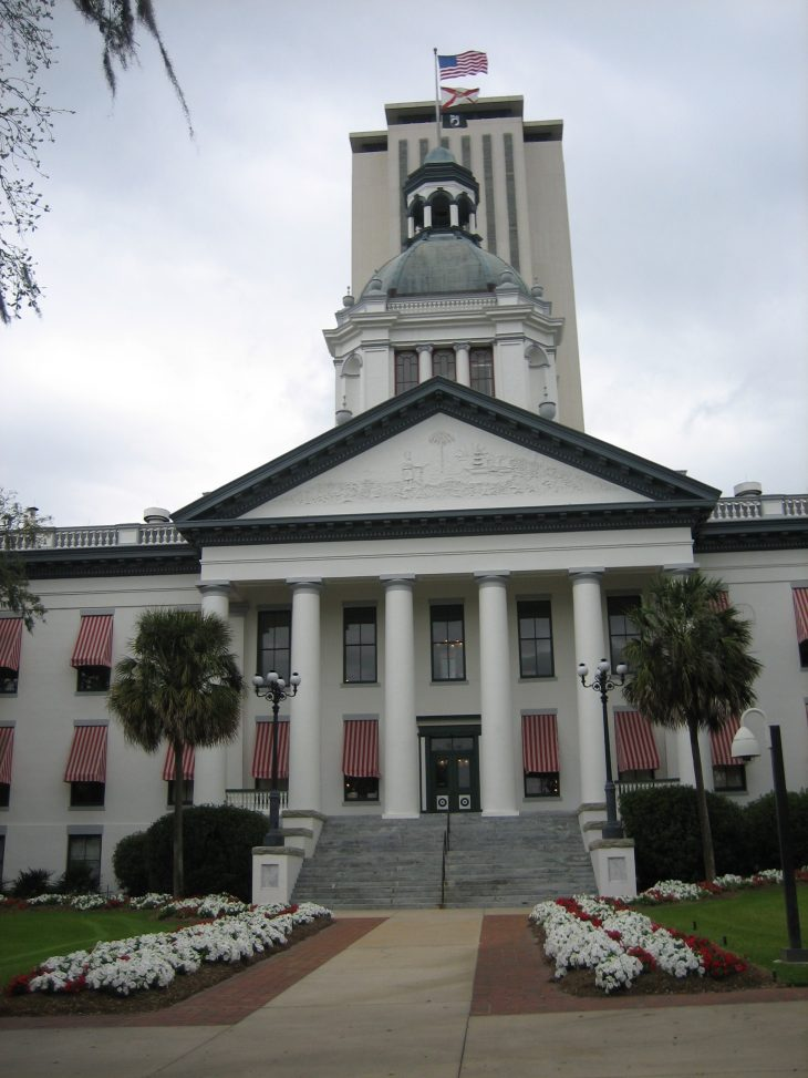 Tallahassee Florida Old and New Capital buildings