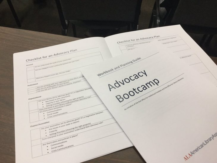 Intellectual Freedom and Advocacy Bootcamp
