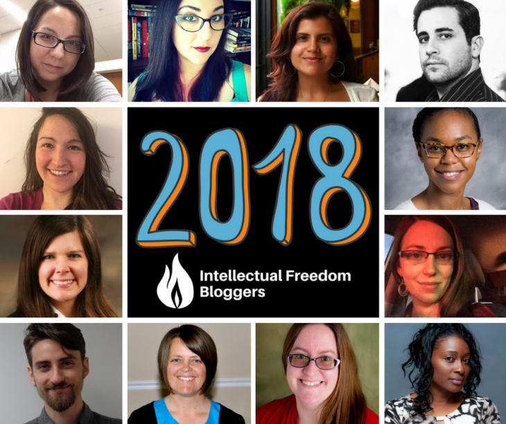 2018 OIF Intellectual Freedom Bloggers