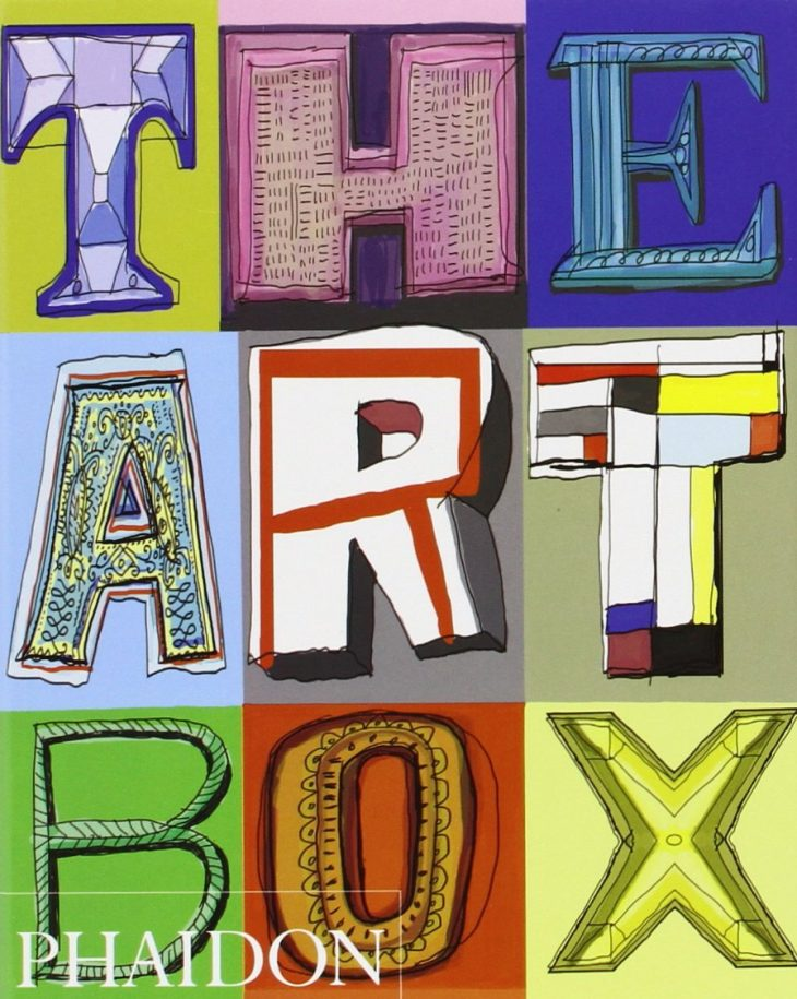 Image of a book called The Art Box, published by Phaidon