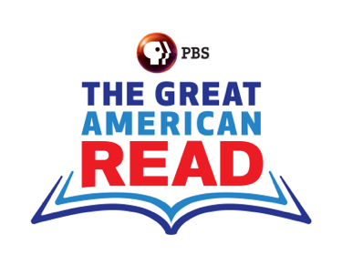 logo from the Great America Read, attribution to PBS