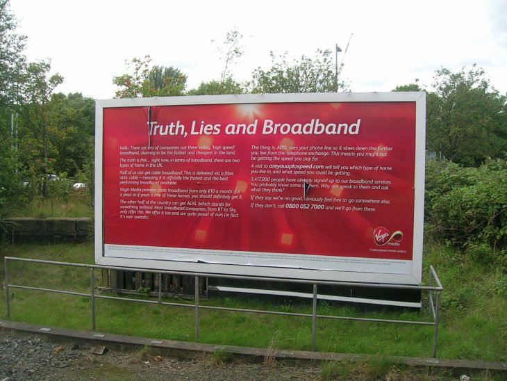 Truth, Lies and Broadband