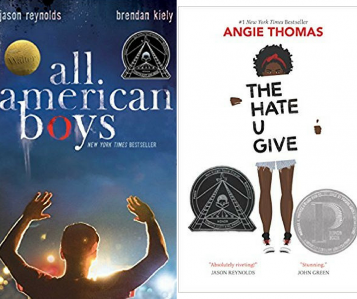 The Hate U Give and All American Boys Challenged by Charleston County Police