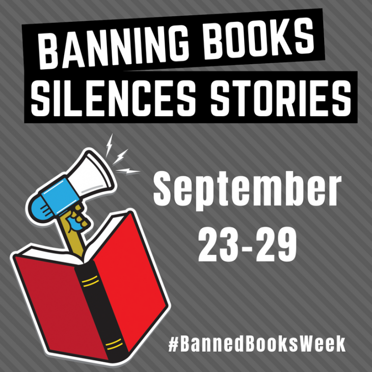 Banned Books Week 2018, September 23-29
