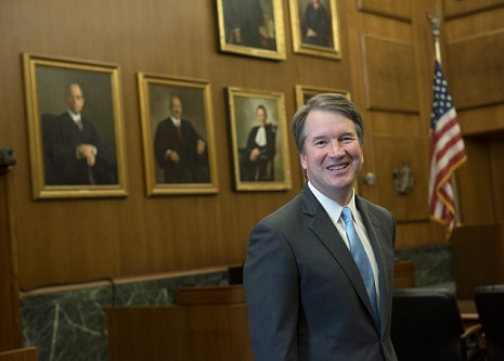 District of Columbia Circuit Court Justice Brett Kavanaugh