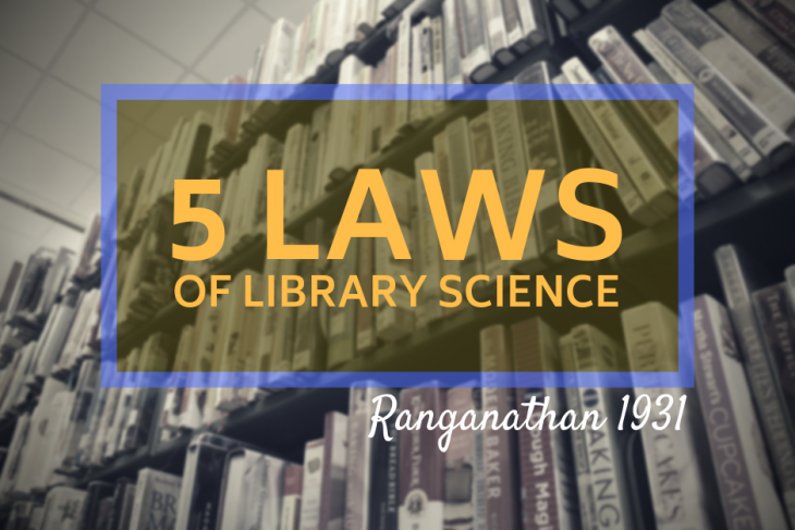 Ranganathan's 5 laws of library science
