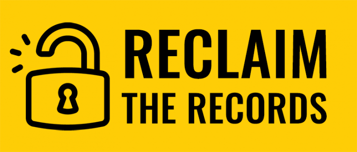 Reclaim the Records logo from their website