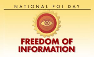 National Freedom of Information Day calendar image for 2019