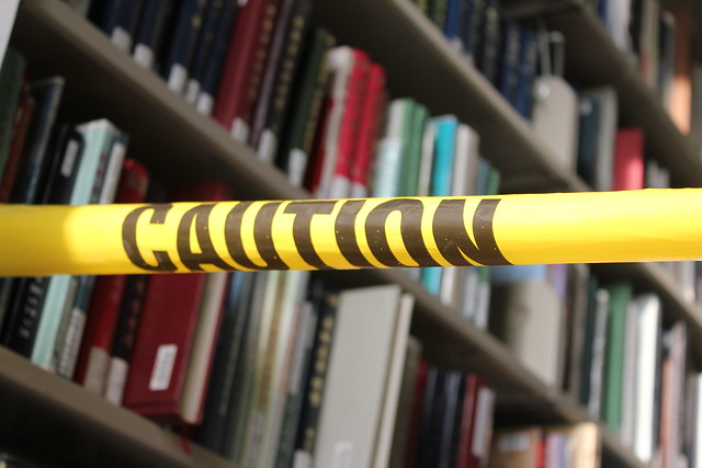 Caution Banned Books