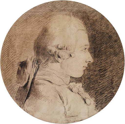 Portrait of Marquis de Sade (1740-1814) by Charles-Amédée-Philippe van Loo