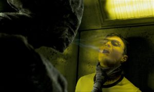 """A dementor attempts to """"kiss"""" Harry Potter in one of the films. Copyright Warner Bros."""