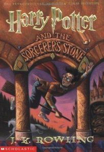 Scholastic cover of Harry Potter & the Sorcerer's Stone