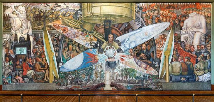 Destroyed By Rockefellers, Mural Trespassed On Political Vision