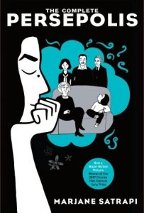 book cover for The Complete Persepolis