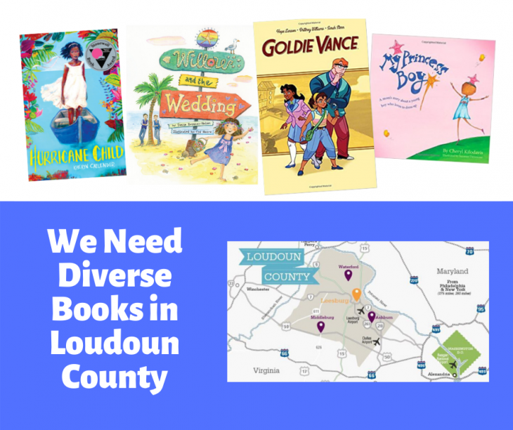 We Need Diverse Books in Loudoun County