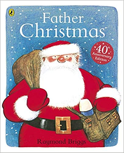 Alt text: Cover of Father Christmas by Raymond Briggs