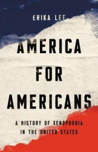 Cover of America for Americans with red, white, and blue