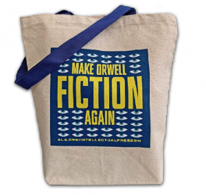 Make Orwell Fiction Tote Bag ALA Store