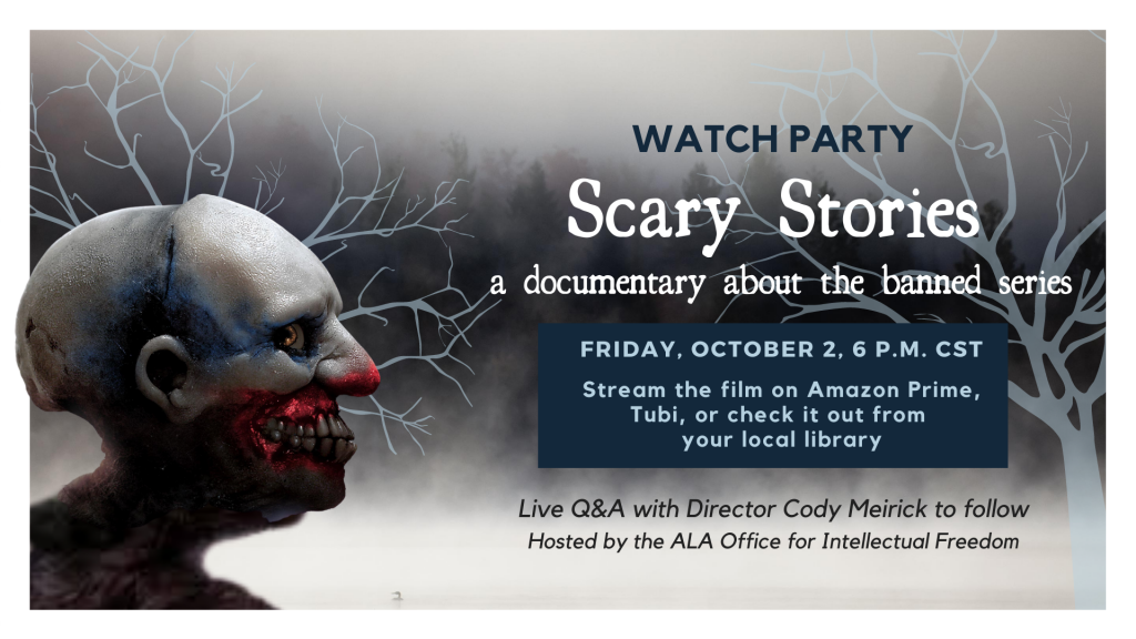 Watch Party for the Scary Stories Documentary