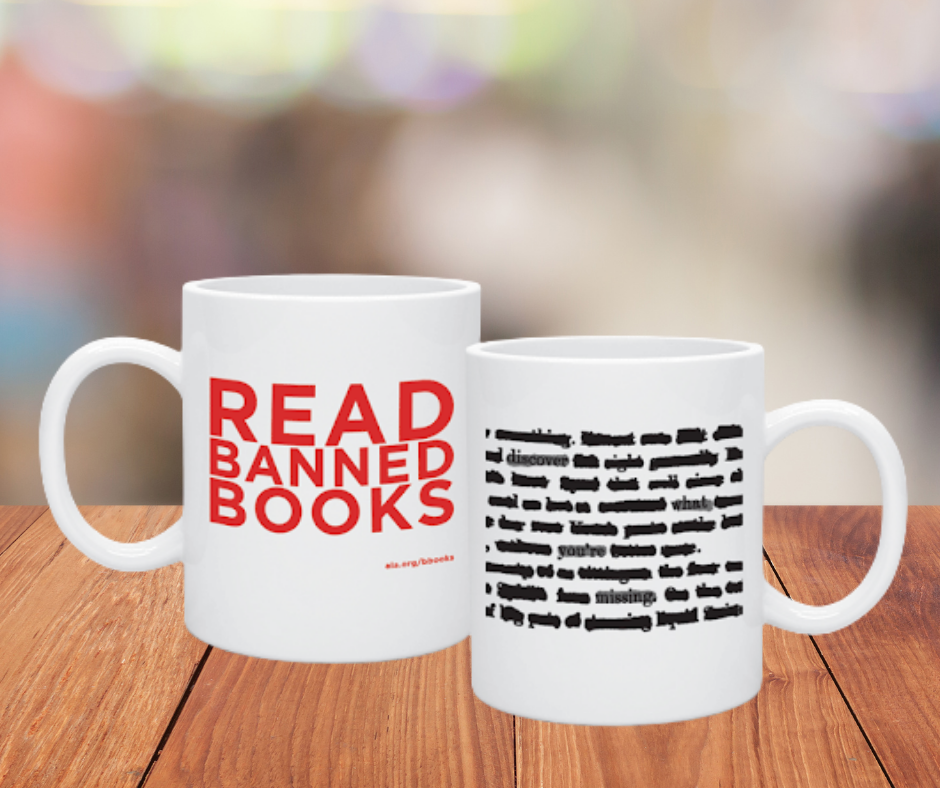 Read Banned Books Mugs