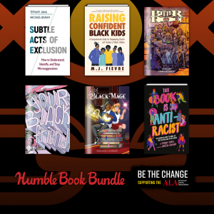 Humble Book Bundle Be the Change Supporting the American Library Association