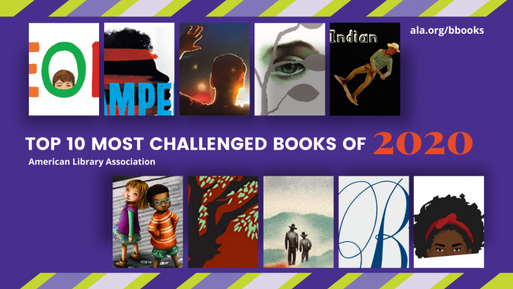 Top Ten Most Challenged Books of 2020