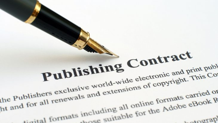 Pen and publishing contract