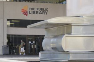 Photo of the Chattanooga Public Library building