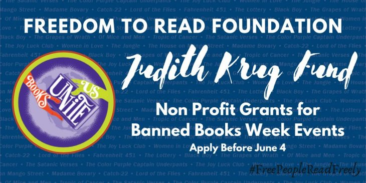 Freedom to Read Foundation Banned Books Week Grants