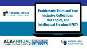 Problematic Titles and You session logo.