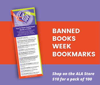 Most Challenged Books of 2020 Bookmark