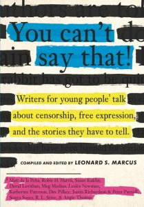 You Can't Say That! Book Cover