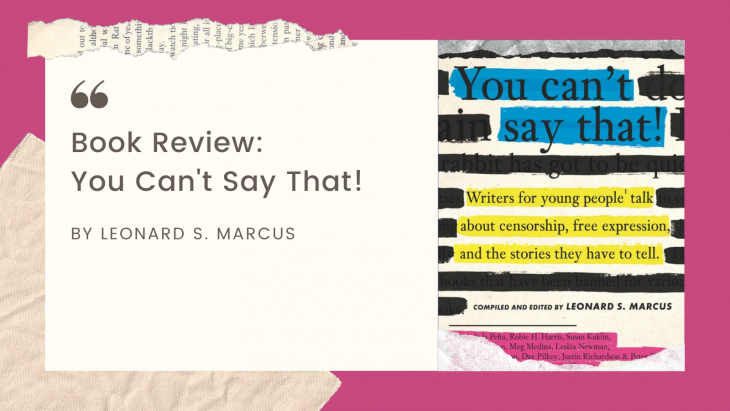 You Can't Say That! Book Review