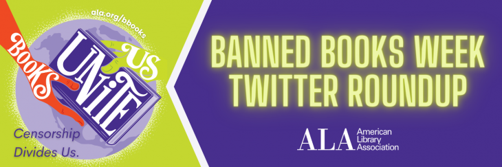Banned Books Week Twitter Roundup